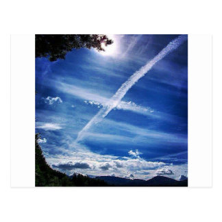 The Saltire in the Sky Postcard