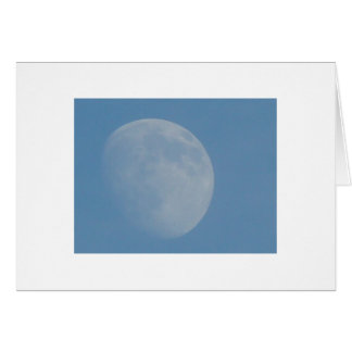 The Same Moon Shines On You and Me Greeting Card