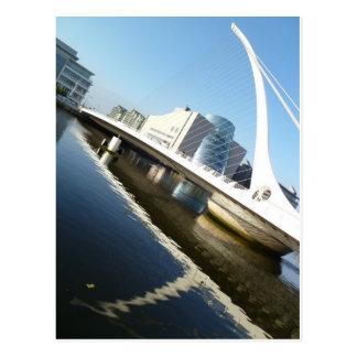 The Samuel Beckett Bridge Postcard