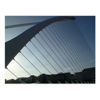 The Samuel Beckett Bridge Postcard