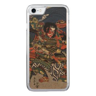 The samurai warriors Tadanori and Noritsune Carved iPhone 7 Case