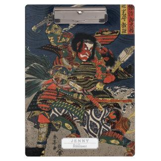 The samurai warriors Tadanori and Noritsune Clipboard