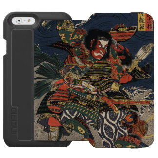 The samurai warriors Tadanori and Noritsune Incipio Watson™ iPhone 6 Wallet Case