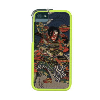 The samurai warriors Tadanori and Noritsune iPhone 5 Case