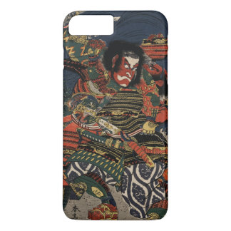 The samurai warriors Tadanori and Noritsune iPhone 7 Plus Case