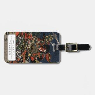 The samurai warriors Tadanori and Noritsune Luggage Tag
