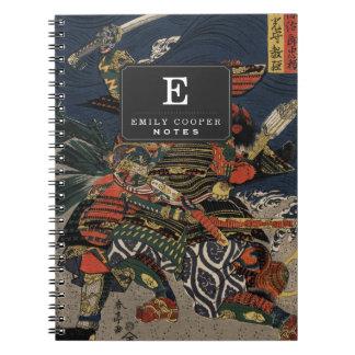 The samurai warriors Tadanori and Noritsune Note Books