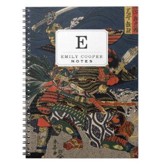 The samurai warriors Tadanori and Noritsune Notebooks