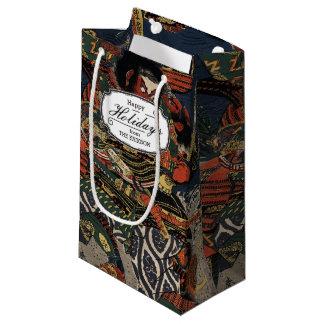The samurai warriors Tadanori and Noritsune Small Gift Bag