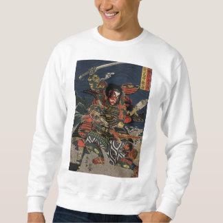 The samurai warriors Tadanori and Noritsune Sweatshirt