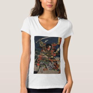 The samurai warriors Tadanori and Noritsune T-Shirt