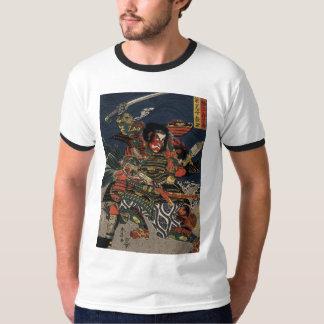 The samurai warriors Tadanori and Noritsune Tees