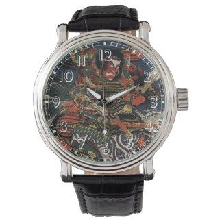 The samurai warriors Tadanori and Noritsune Watches