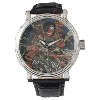 The samurai warriors Tadanori and Noritsune Wrist Watch