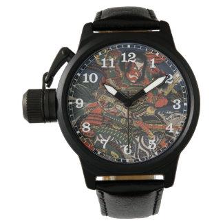 The samurai warriors Tadanori and Noritsune Wrist Watches
