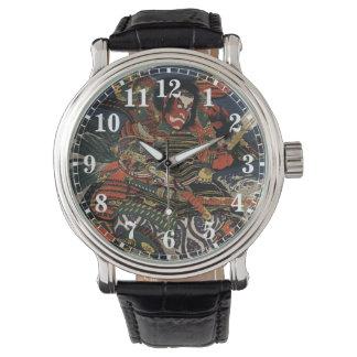 The samurai warriors Tadanori and Noritsune Wristwatch
