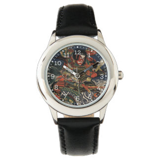 The samurai warriors Tadanori and Noritsune Wristwatches