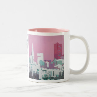 The San Francisco Skyline Two-Tone Coffee Mug
