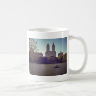 The San Remo seen from Central Park, New York City Basic White Mug