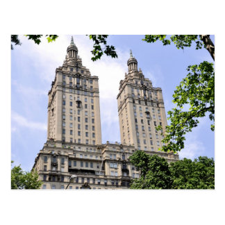 The San Remo Towers- Central Park West Postcard
