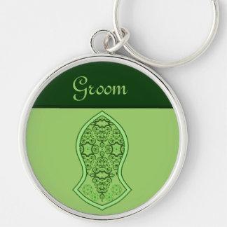 The Sandal Of The Prophet (Green) Key Ring