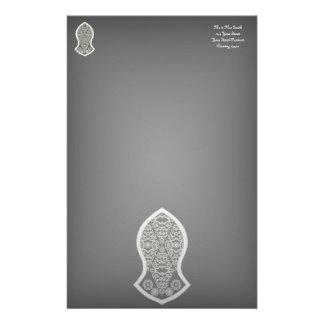 The Sandal Of The Prophet (White) Customised Stationery
