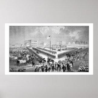 The Santee Sioux Uprising, Mankato, Minnesota, 186 Poster