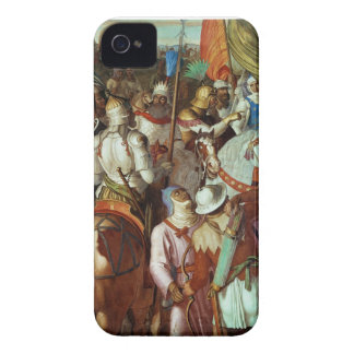 The Saracen Army outside Paris, 730-32 AD iPhone 4 Cover