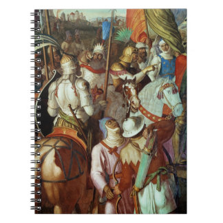 The Saracen Army outside Paris, 730-32 AD Note Books