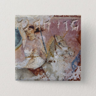 The Sarcophagus of the Amazons 15 Cm Square Badge