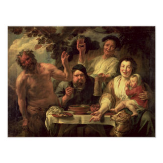 The Satyr and the Peasants Poster