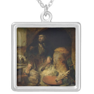 The Savage, c.1838 Silver Plated Necklace