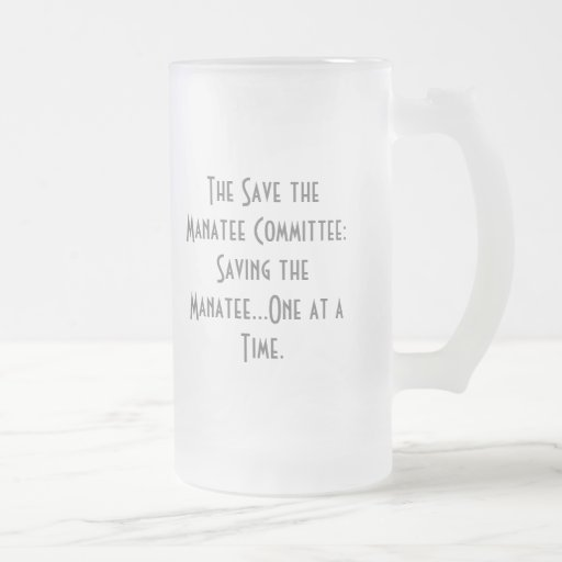 The Save the Manatee Committee Mug