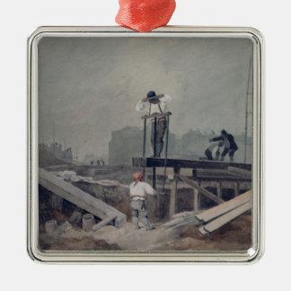 The Sawpit Christmas Ornament