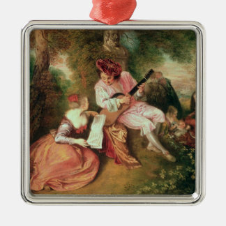 The Scale of Love, 1715-18 Christmas Ornament