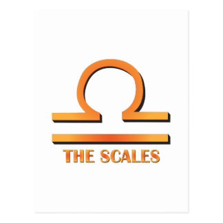 The Scales Postcard