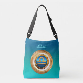 The Scales Zodiac Sign Crossbody Bag