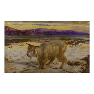 The Scapegoat by William Holman Hunt Poster