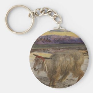 The Scapegoat Basic Round Button Key Ring