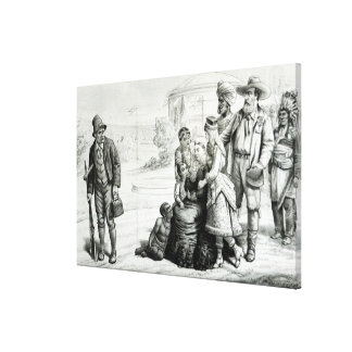 The Scapegrace of the Family Canvas Print