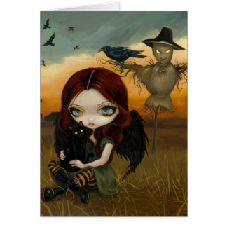 """""""The Scarecrow"""" Greeting Card"""
