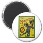 The Scarecrow Of Oz 6 Cm Round Magnet