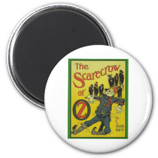 The Scarecrow Of Oz Magnet