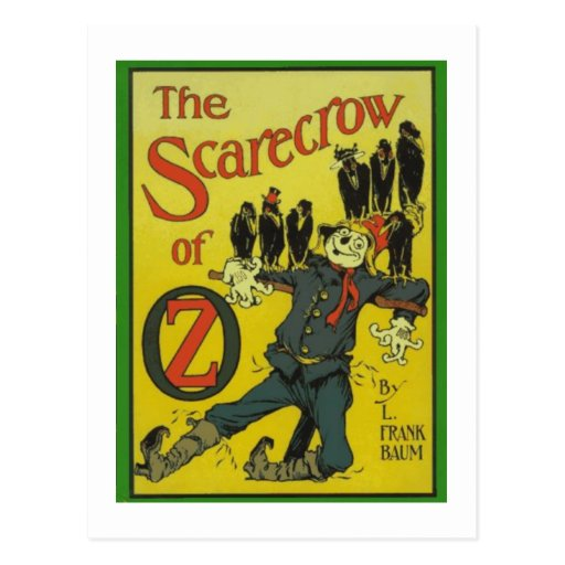 The Scarecrow Of Oz Postcards
