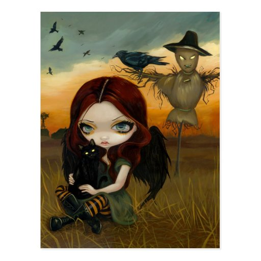 """The Scarecrow"" Postcard"