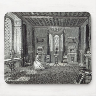 The Scarlet Drawing-room, Lansdown Tower Mouse Pad