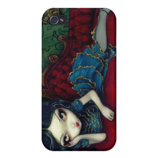 """""""The Scarlet Sofa"""" iPhone 4 Case"""