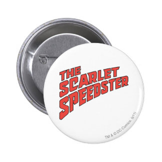 The Scarlet Speedster Logo 6 Cm Round Badge