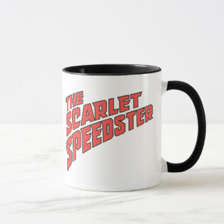 The Scarlet Speedster Logo Mug