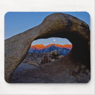 The Scenic Alabama Hills Nestled Mouse Mat